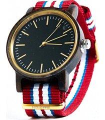 cherry design - drewniany zegarek