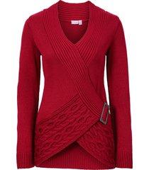 pullover (rosso) - bodyflirt boutique