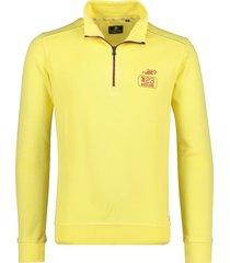 nza sweater met rist model oamaru geel