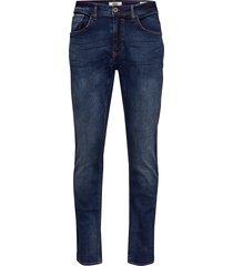 jeans - clean slimmade jeans blå blend
