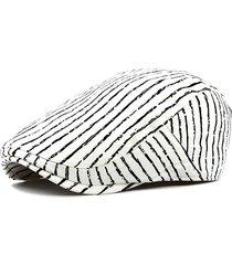 berretto in cotone respirabile a righe tener caldo da outdoor fashion berretto con protezione da sole jazz cap