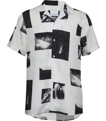 einar sx aop 10527 overhemd met korte mouwen wit samsøe & samsøe