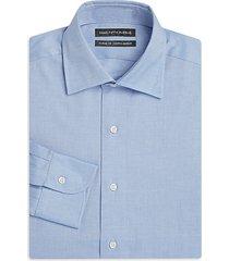 slim-fit cotton twill dress shirt