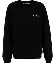 off-white arrow liquid melt regular sweatshirt