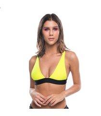 top de biquíni naked swimwear alexia fixo com reguladores feminino