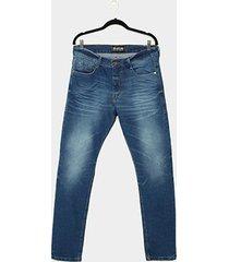 calça jeans ecko estonada masculina