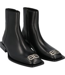 balenciaga flat rim bootie shoes