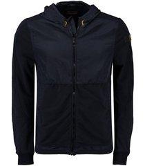 in-between jas hinger donkerblauw