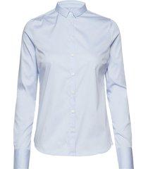 tilda shirt overhemd met lange mouwen blauw mos mosh