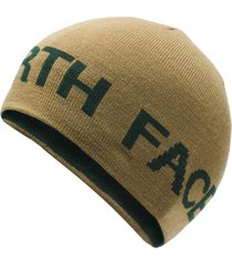 gorro reversible tnf banner beige the north face