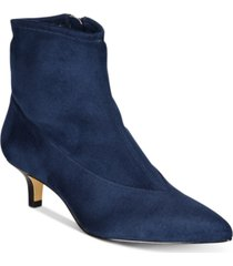 bella vita stephanie ii kitten-heel booties women's shoes