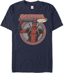 marvel men's comic collection deadpool check out the chump -shirt