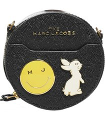 marc jacobs leather circle wallet bag