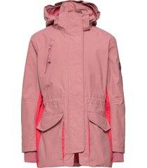 henrietta outerwear shell clothing shell jacket roze molo