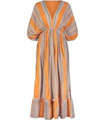 amira printed cotton-blend gauze midi dress