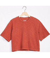 lou & grey cozy jersey crop top