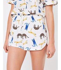 loft cat pajama shorts