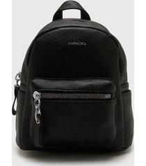 mochila negra amphora jeannet