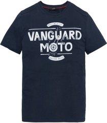 t-shirt vanguard donkerblauw ronde hals moter