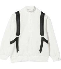 fendi white teen sweatshirt