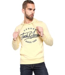 buzo amarillo claro jack & jones