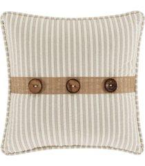 "j queen new york palm beach 18"" square pillow bedding"