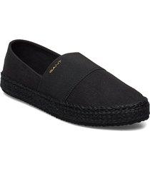 raffiaville espadrille sandaletter expadrilles låga svart gant