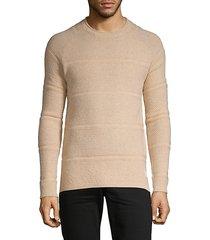 structured rocker wool-blend sweater