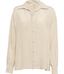 melia overhemd met lange mouwen crème whyred