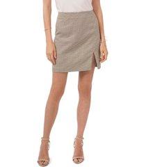 1.state mini skirt with slide slit