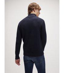 cardigan in cotone e lana