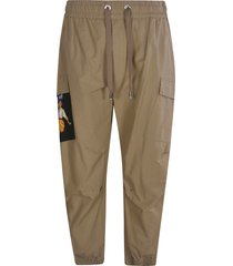 dolce & gabbana ribbed cargo pants