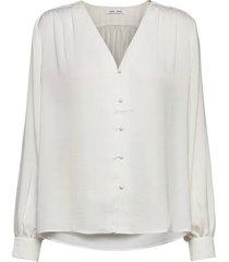 jetta shirt 12770 blouse lange mouwen wit samsøe samsøe