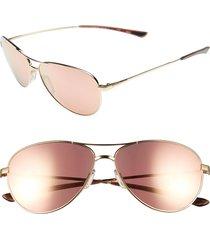 women's smith 'langley' 60mm aviator sunglasses -