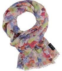 women's mini floral scarf
