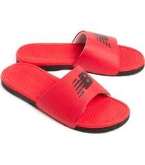 sandalias new balance pro slide para mujer color rojo