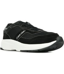 lage sneakers calvin klein jeans low top lace up mix