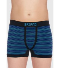 boxer seamless rayas azul baziani