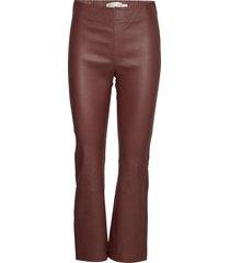 cedar pant pantalon met rechte pijpen rood inwear