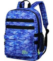 mochila azul kossok sierra