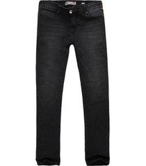 calça jeans khelf black skinny marinho denim