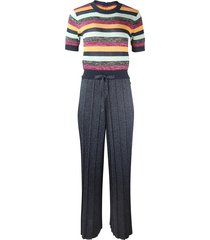 lurex all-in-one jumpsuit