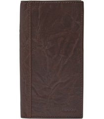 fossil men's neel leather executive wallet