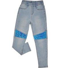 jeans con lentejuelas lt denim corona