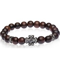 be unique designer men's bracelets, antique style bracelet w/ebony beads