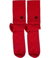 love sock company men's knee high socks - biz dots
