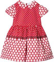 simonetta dress with pois