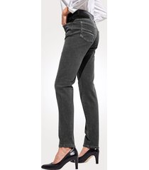 jeans mona donkergrijs