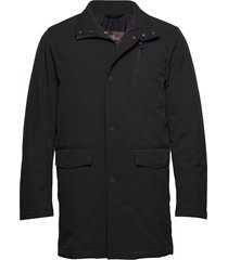 danton coat gevoerd jack zwart oscar jacobson