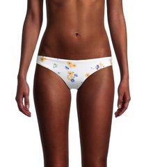 bond-eye women's honey honey brief bikini bottom - honey gold - size s